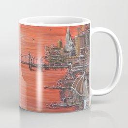 Crimson City Coffee Mug
