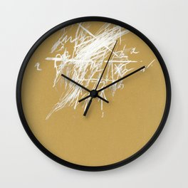 crossing 7 Wall Clock