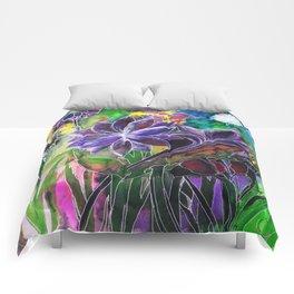 Spring Garden In Bloom Comforters