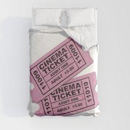 Cinema Tickets Comforters