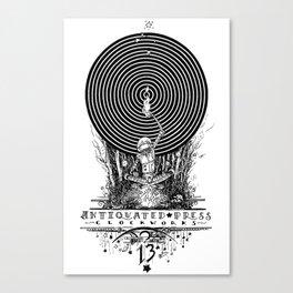 Clockworks Light Canvas Print