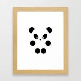 Little panda #society6 #decor #buyart #artprint Framed Art Print