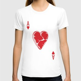 Delicious Deck: The Ace of Hearts T-shirt