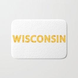 Wisconsin Cheese Bath Mat