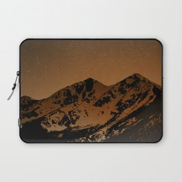 Mountains at night series III // Boulder CO Laptop Sleeve
