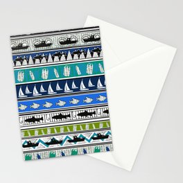 Stop ocean pollution! Stationery Cards