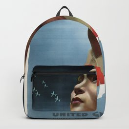 China Fights On Backpack