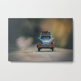 Little cars, Big Planet (Nature) Metal Print