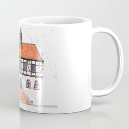 Timber-Framed House from Germany Coffee Mug