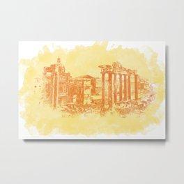 Rome imperial forums Metal Print