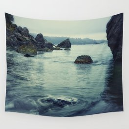 Beauty in Old Home Beach Wall Tapestry