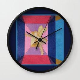 Fairy Under Glass Wall Clock