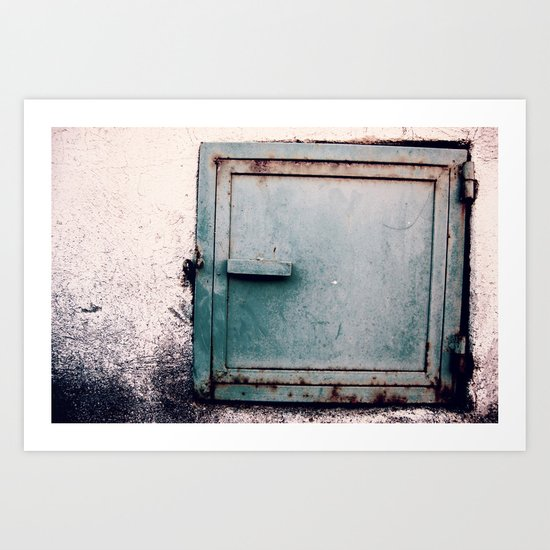 The Door Art Print