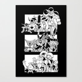 Best Villains Canvas Print