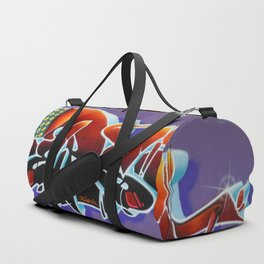 """Pealing back the layers"" Duffle Bag"