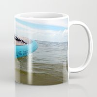 yolo Mugs featuring YOLO by Blue Orchid Photography