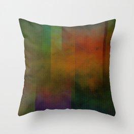 Metallic Colours Throw Pillow