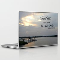 scripture Laptop & iPad Skins featuring Hilton Head Island, Scripture by Stephanie Stonato