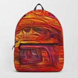 Citrus Eruption- Artificial Intelligence Artwork Backpack