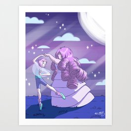 I would be so pleased Art Print