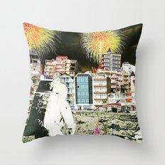 Moon Landing. Throw Pillow