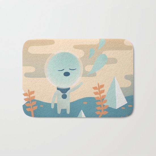 Space Traveler Bath Mat