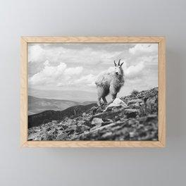 KING OF THE MOUNTAIN Framed Mini Art Print