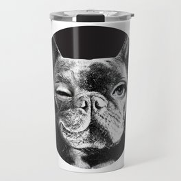 FRENCH BULLDOG FORNASETTI BLINK Travel Mug