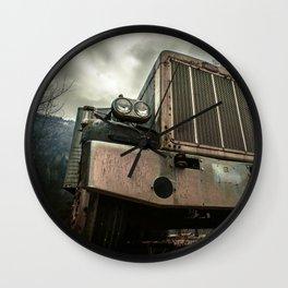 Rusty Warrior Wall Clock