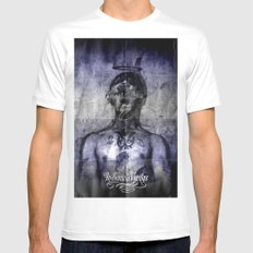 Discovering the unknown. Mens Fitted Tee White MEDIUM