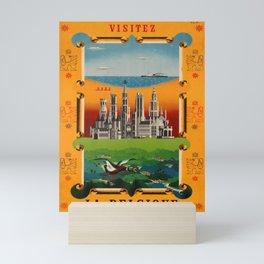 vechio Visit Belgium Schell Seaside Cities Countryside Mini Art Print
