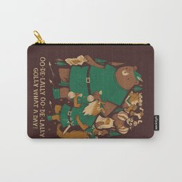oo-de-lally (brown version) Carry-All Pouch