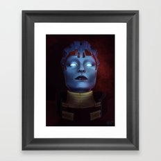 Mass Effect: Samara Framed Art Print