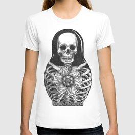 Matryoshka Skelton Doll T-shirt