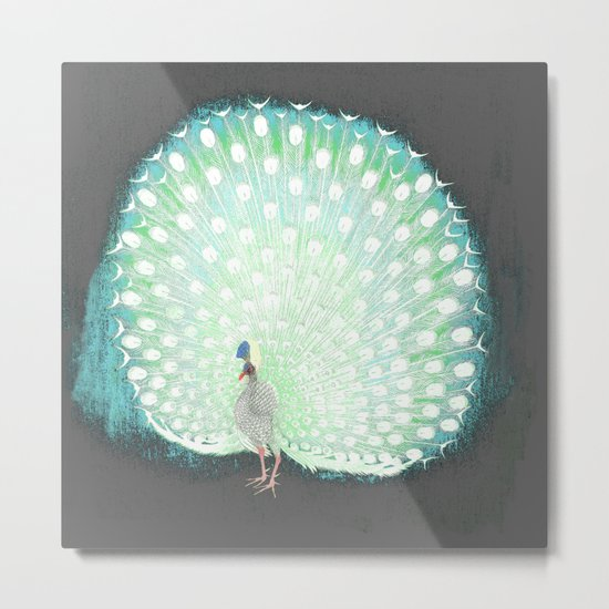The tail that blinds. Metal Print