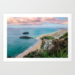 View from the Mount Art Print