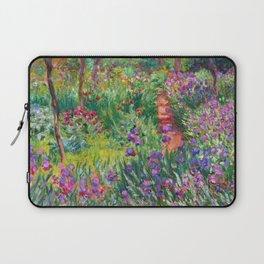 Claude Monet - The Iris Garden At Giverny Laptop Sleeve