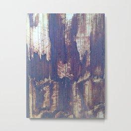 telephone pole grain Metal Print