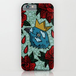 the demon Paimon ~reds and blues iPhone Case