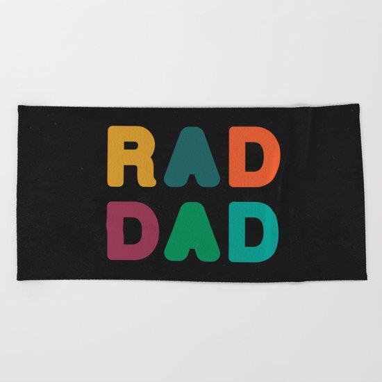 Rad Dad Beach Towel