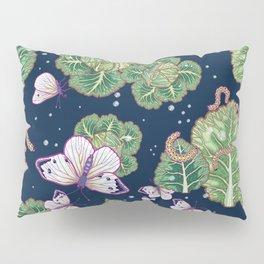 mischief in the garden Pillow Sham