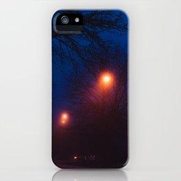Foggy Nights (1) iPhone Case