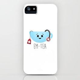 EM-Tea iPhone Case