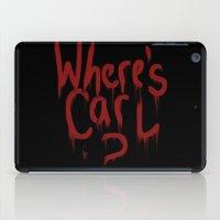 carl sagan iPad Cases featuring Where's Carl? by mattjamie