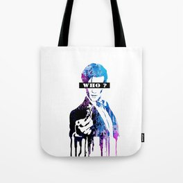 WHO ?? Tote Bag