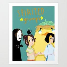 gamegrumps Art Print