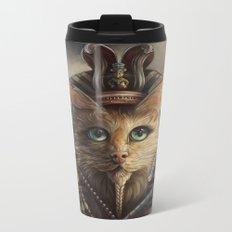 King Tutankhameow Metal Travel Mug