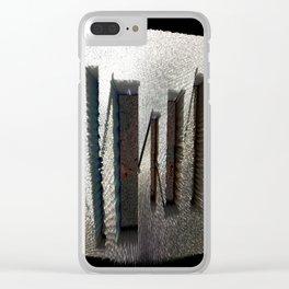 InsideSound#14 Clear iPhone Case