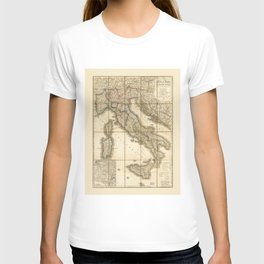 Map of Italy (1851) T-shirt