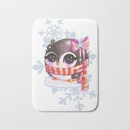 Snowy Bath Mat